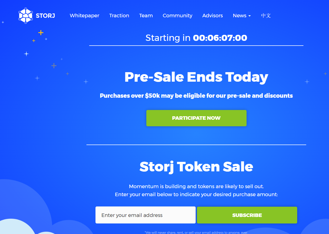 Storj Ico Preview Urban Crypto