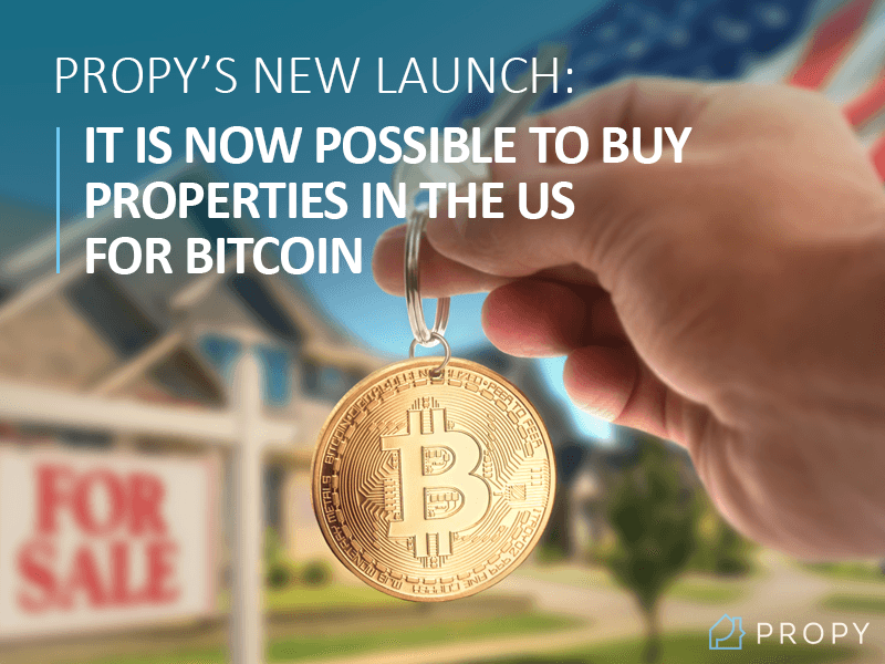 Propy buy real estate with bitcoin