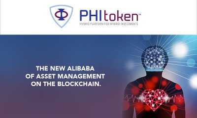World's First Hybrid Investment Platform, PHI Token, raises £4.7M in first two days of pre-ICO sale.