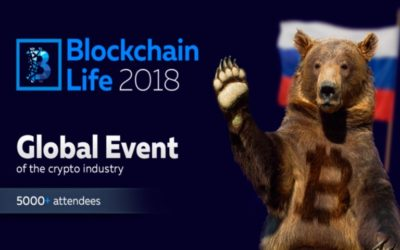 St. Petersburg to Host Blockchain Life 2018
